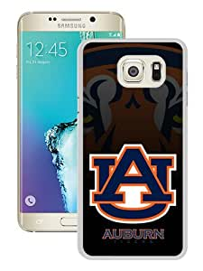 Unique Samsung Galaxy Note 5 Edge Skin Case ,Fashionable And Durable Designed Phone Case With Southeastern Conference SEC Football Auburn Tigers 2 (2) White Samsung Galaxy Note 5 Edge Screen Cover Case