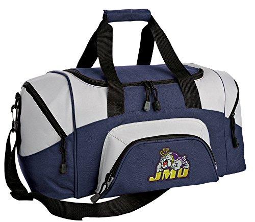 Broad Bay Small James Madison University Gym Bag Deluxe JMU Travel Duffel Bag