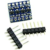 4 Channel IIC I2C Logic Level Converter Bi-Directional Module 5V to 3.3V Compatible With Arduino by Atomic Market