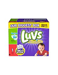 luvs diapers, size 1, 252 count BOBEBE Online Baby Store From New York to Miami and Los Angeles