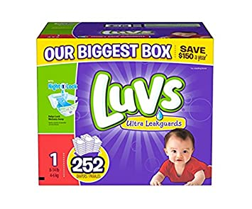 Amazon.com: luvs diapers, size 1, 252 count: Health & Personal Care