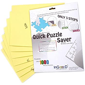 Amazon Com Puzzle Presto Peel Amp Stick Puzzle Saver The