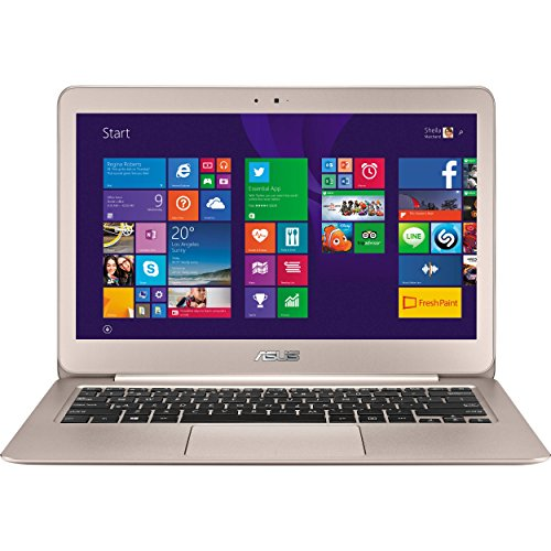 Asus ZenBook UX305CA - 13.3' (1920x1080) | Core M3-6Y30 | 512 GB SSD | 8GB RAM | 802.11ac + Bluetooth | 0.48' Thin & 2.65 lbs | Windows 10 64bit | Titanium Gold