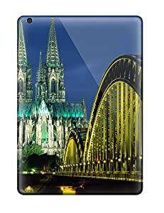 6467962K72460638 High-quality Durable Protection Case For Ipad Air(cologne Cathedral And Hohenzollern Bridge Germany)