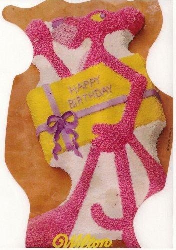 - Wilton Pink Panther Cat Cake Pan (502-4548, 1977) Retired