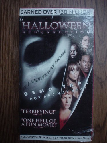 Halloween 8: Resurrection [VHS] (Halloween Resurrection Tyra Banks)