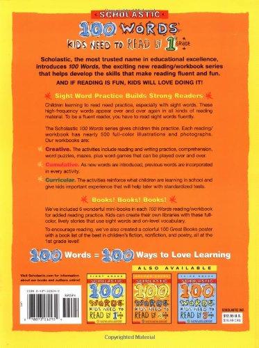 Amazon.com: 100 Words Reading Workbook (100 Words Math Workbook ...