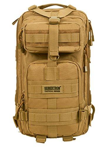 Seibertron Falcon Taktischer Milit?rischer Rucksack Kompakt Angriff f¨¹r Wandern Reisen Trekking Tasche Tactical Bag…