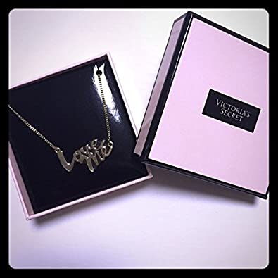 Amazon.com: Victoria Secret Love Me Necklace: Jewelry