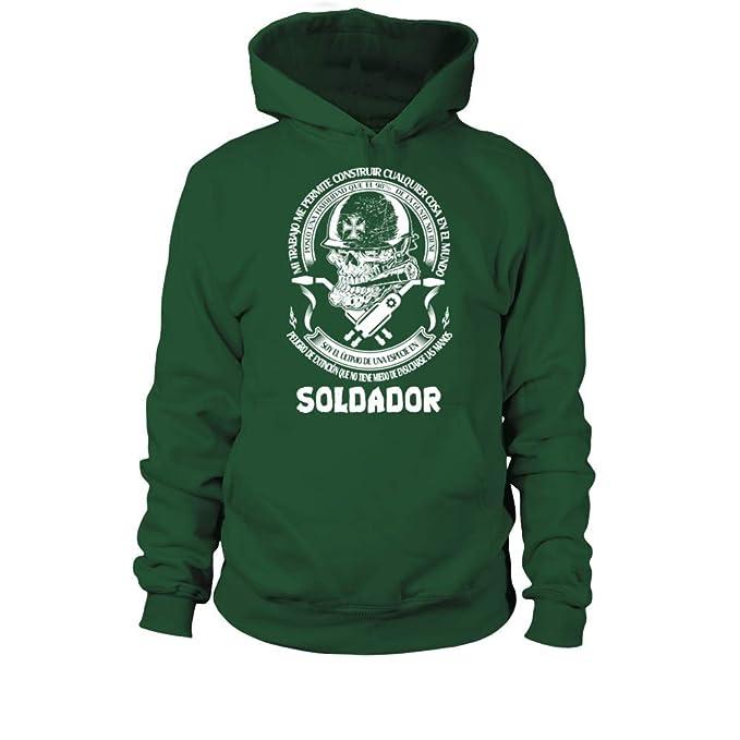 **Soldador DT - EDICIÓN Limitada ** Sudadera con Capucha Unisex: Amazon.es: Ropa y accesorios