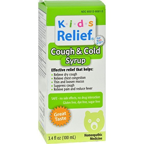 Kids Relief Cough & Cold Syrup - 3.4 fl oz ( Multi-Pack) ()