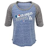 Outerstuff Los Angeles Dodgers Majestic MLB Girls AC Team Choice On-Field 3/4 Sleeve Shirt