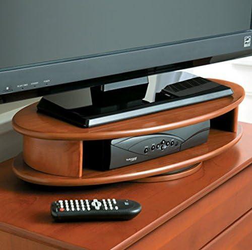 Palos Wood Products Oval - Soporte Giratorio para televisor ...