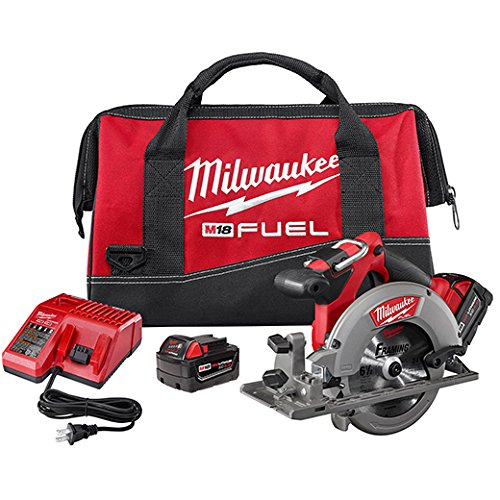 (Milwaukee 2730-22 M18 Fuel 6 1/2 Circ Saw 2 Bat Kit)