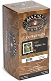 Baronet Coffee Sumatra Dark Roast, 18-Count Coffee Pods (Pack of 3)