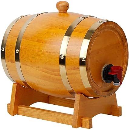 Barril Vino Madera Moderno Antiguo 1,5 litros Barril de ...