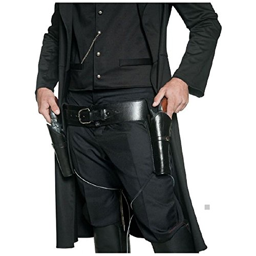 Authentic Western 2 Holsters & Belt Costume Accessory Adult (Authentic Pennywise Costume)