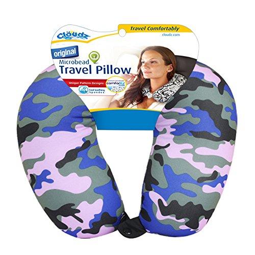 Cloudz Patterned Neck Pillows - Camouflage Print