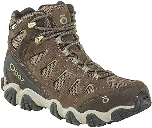Oboz Sawtooth II Mid B-Dry Hiking Boot - Men's Canteen/Mayfly Green 10.5 (Boot Dry)