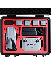 2020 VCUTECH Mavic Air 2 Waterproof Hard Carrying Case Compatible with DJI Mavic Air 2 Drone/Fly More Combo & Drone Accessories, Top Grade Foam Insert, Anti-Crash with Full Protection