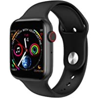 OUYAWEI W34 Bluetooth Call Smart Watch ECG Heart Rate Monitor Smartwatch for Android iPhone Xiaomi black