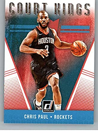 4099a13c2 2018-19 Donruss Court Kings  35 Chris Paul Houston Rockets NBA Basketball  Trading Card