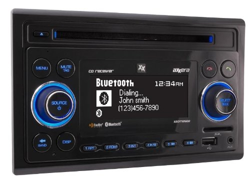 Axxera Double DIN CD Receiver With Built-In Bluetooth 4333161006
