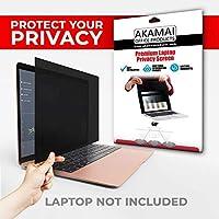 """Akamai Office Products Pellicola con Filtro Privacy - per schermi Laptop Widescreen - 14"""" (Misura Diagonale)"""