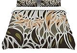 KESS InHouse Viviana Gonzalez''Africa-Abstract Pattern II'' Featherweight Queen Duvet Cover, 88 x 88''