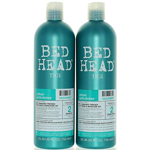 (TIGI Bed Head Urban Anti-dote Recovery Shampoo & Conditioner Duo Damage Level 2 (25.36oz))