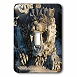 Danita Delimont - Statues - Statue at Tanah Lot. Bali island, Indonesia - Light Switch Covers - single toggle switch (lsp_225823_1)