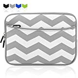 "10 10.1 Inch Tablet Sleeve Case, Armor Wear Portable Neoprene Zipper Carrying Case Bag with Accessory Pocket for iPad 2/3/4/Air/Air2,iPad Pro 9.7"", Android 10.1-Inch Samsung Galaxy,LG,Dell Tablet"