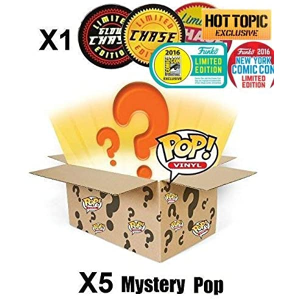 POP Figure Funko 3 pack Mystery Box