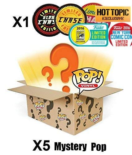 Mystery Pack Incluye Random Limited Edition, Exclusive o Chase Figure (Caja de 6)