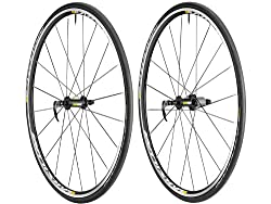 Mavic Aksium S Road Wheelset With Tires 700x23c White