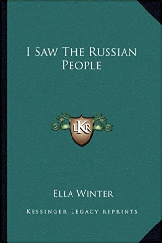 Book I Saw The Russian People