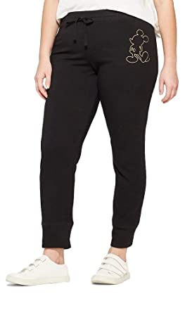 Pantalones para Correr de Mickey Mouse, Talla Grande, para Mujer ...