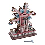 Jili Online Vintage Clockwork Tinplate Toys Wind Up Spinning Ferris Wheel Kids Xmas Gift