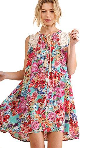 Island Floral Print Dress - 7