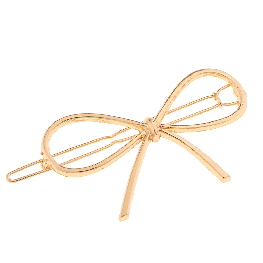 Sharplace Einfache Geometrie Metall Schleife haarnadeln Haarclips