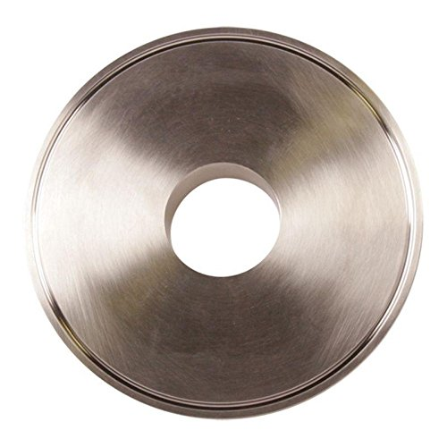 End Cap Reducer   Tri Clamp 6 inch x 2 in. - Stainless Steel SS304 - Glacier Tanks - (3 Pack)