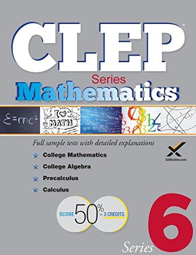 CLEP Math Series 2017 (Clep Mathematics)