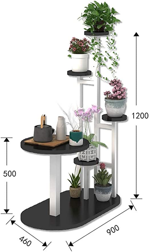 Soportes para plantas Jardinería Inicio Piso Flower Stand Multi ...