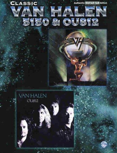 Classic Van Halen -- 5150 & OU812: Authentic Guitar TAB