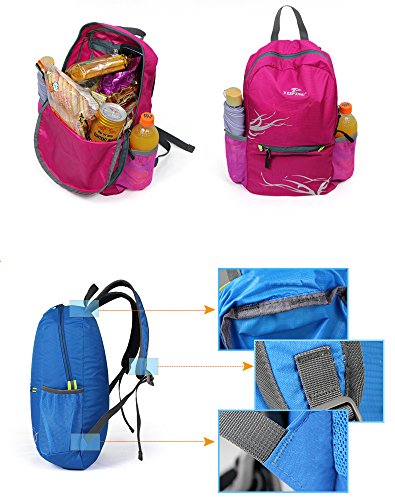 1db0ded81a0a Leaper Outdoor Nylon Ultra-light 20L Folding Backpack Travel Daypack ...