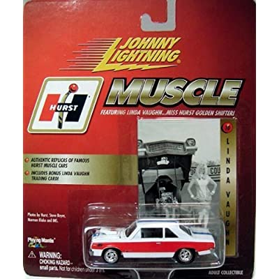 Johnny Lightning Muscle Linda Vaughn Hurst Auto Parts Die Cast Vehicle by Playing Mantis: Toys & Games