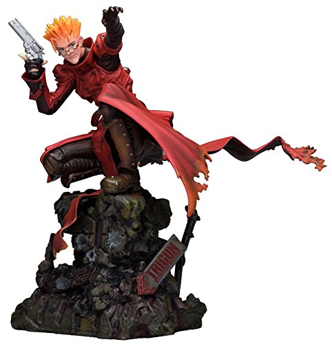Matching World Trigun: Badlands Rumble VASH The Stampede Attack Version Statue