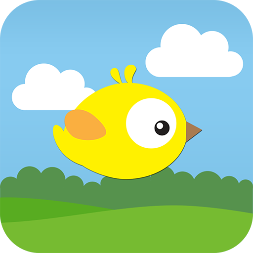 Paper Bird - Clumsy flying bird vs the smashing tubes (by yeet cool games)
