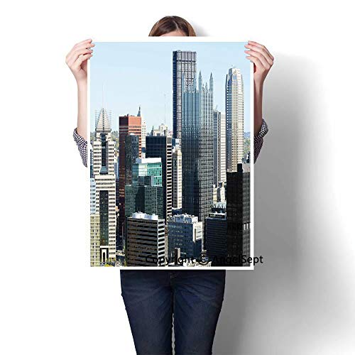 Grey Silver Light Blue Modern Canvas Painting Wall for sale  Delivered anywhere in Canada