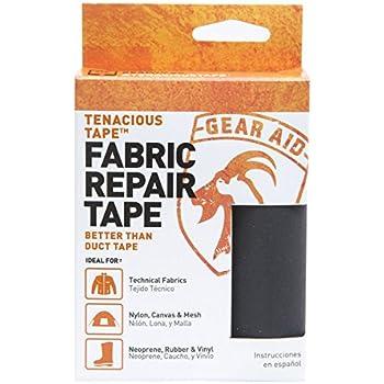 Amazon Com Gear Aid Tenacious Tape Repair Tape For Fabric